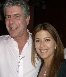 Anthony Bourdain y Doreen Colondres