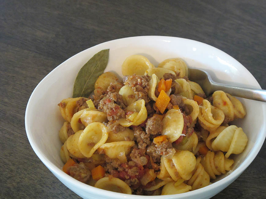 Bolognese Pasta, Bologna Style - The Kitchen doesn't Bite - Doreen Colondres
