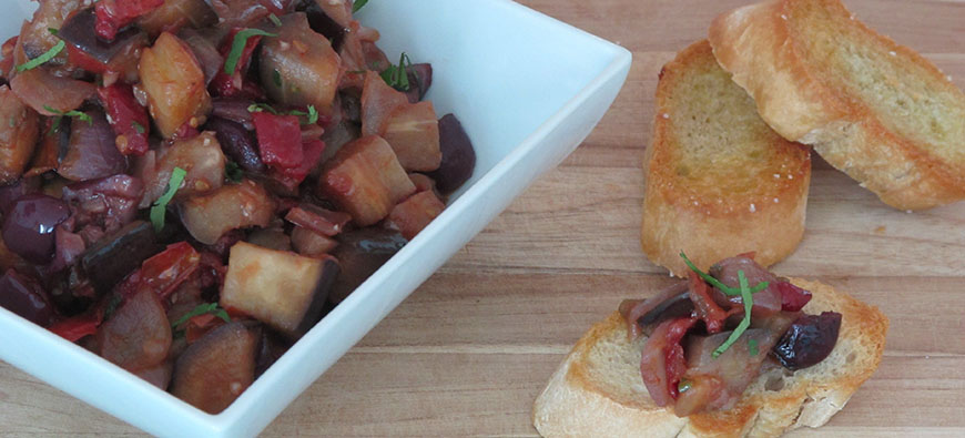 Caponata Latina  - simple recipe - The Kitchen doesn't Bite - Doreen Colondres