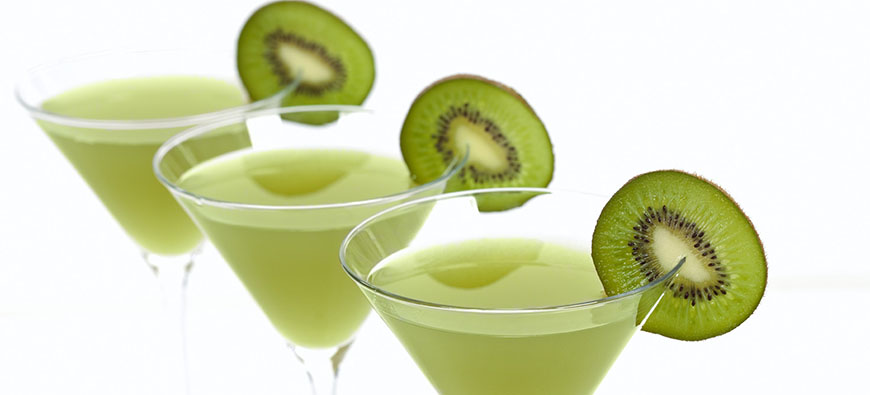 Kiwi Rum-Rum - simple recipe - The Kitchen doesn't Bite - Doreen Colondres