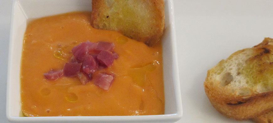 Salmorejo Cordobes - simple recipe - The Kitchen doesn't Bite - Doreen Colondres