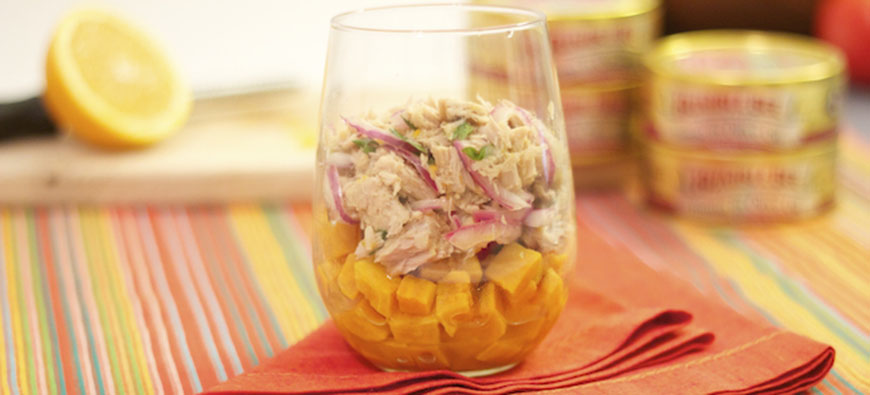 Tuna Cebiche With Ají Amarillo And Sweet Potatoes - simple recipe - The Kitchen doesn't Bite - Doreen Colondres